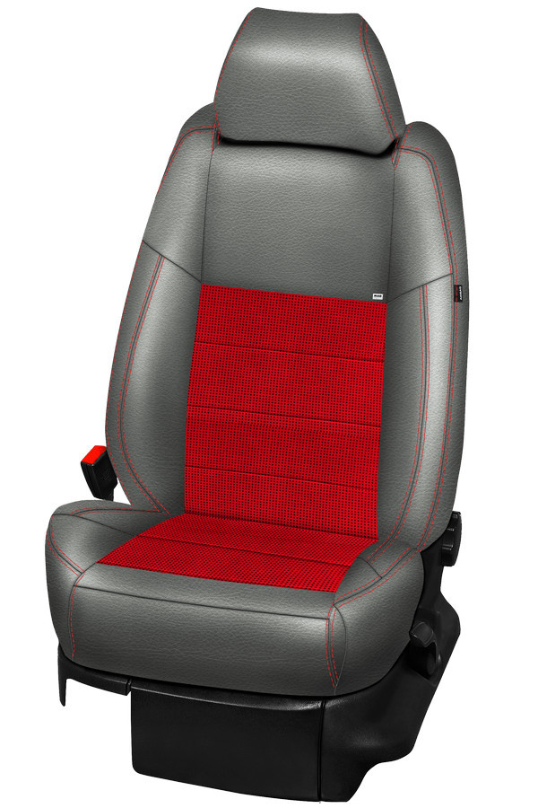 ALCANTARA® IL red
